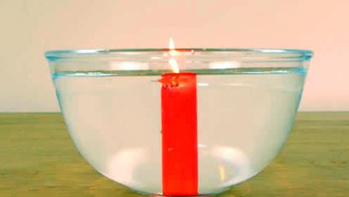 蜡烛在水中也能燃烧?老外亲自实验,打破你的认知!