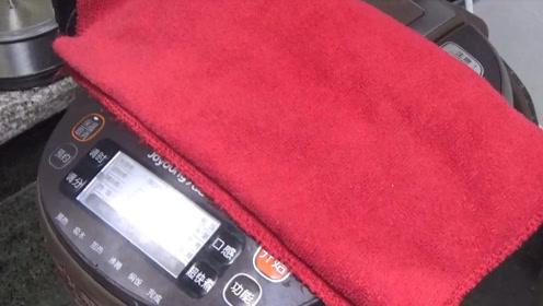 电饭锅上盖一条毛巾,太厉害了,好多人不知道怎么回事,快看看吧