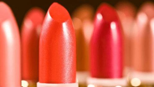 给美貌加分的口红,盲摸8支不同颜色不同质地的口红试色对比