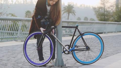"""23岁大学生发明""""不怕丢""""自行车,小偷拿它都没一点办法"""