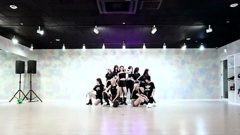 乐华新女团EVERGLOW爵士舞《Adios》官方舞蹈练习室