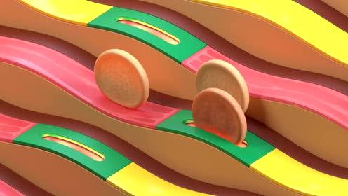 麦当劳早餐里的强迫症美学《鸡蛋交响曲》
