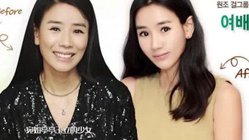 尹贤淑整容后化身18岁少女,网友惊呼四十岁的阅历二十岁的脸!