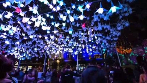 缤纷悉尼灯光节,全世界最炫的灯光秀