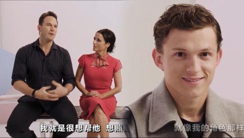 星爵采访深情表白荷兰弟:我确实把他当亲弟,看他那小脸儿多可爱