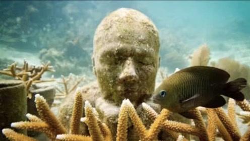"""潜水员在深海底下发现一张""""人脸"""",直接叫来警察"""