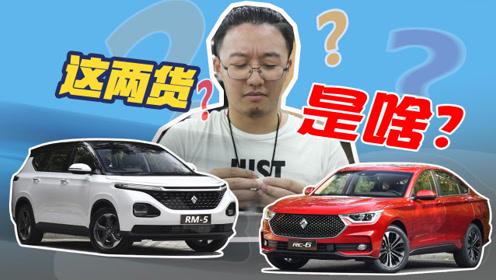 在两台车里藏六台车?宝骏RM-5&RC-6葫芦里卖的什么药?