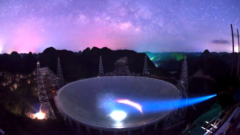 """""""天眼""""发现30亿光年外信号,或来自太空生物中科院决定不回应"""
