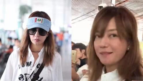 小燕子怎么了?赵薇素颜现身机场,脱帽摘墨镜眼袋超重一脸憔悴