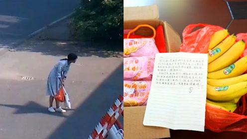 女孩在火箭军门口鞠躬,放下纸箱离开,里面的纸条感动千万网友