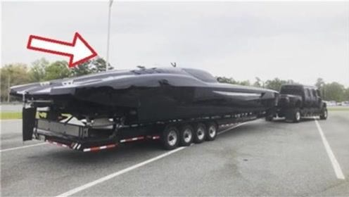 美国最牛超级跑车,水上时速高达300公里!看过的人都不敢相信