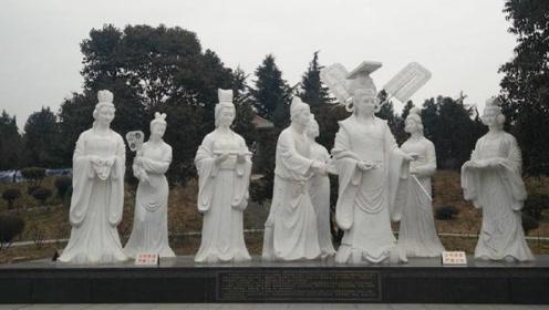 女帝武则天的长相如何,一尊石像告诉你,游客:别被电视剧骗了
