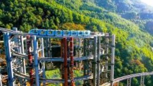 """中国式奇迹!贵州""""高铁爬楼""""奇观引瞩目,老外在上面都吓懵了"""
