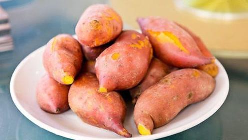 蒸红薯,直接上锅就错了,死记这诀窍,香甜细腻,全家人抢着吃
