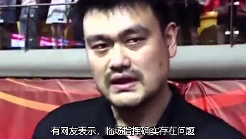 中国男篮主帅李楠申请辞职?网友:放易建联一条生路!