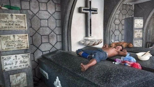 菲律宾最神秘的人,生下来就与死人一起生活,死亡后才被允许离开