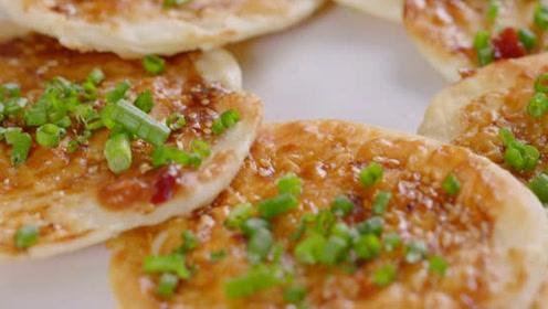 完爆街边酱香饼!饺子皮这样煎又香又酥!