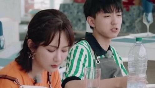 近日在中餐厅秦海璐仓鼠式投喂仝卓、王俊凯、杨紫 ,好有爱啊