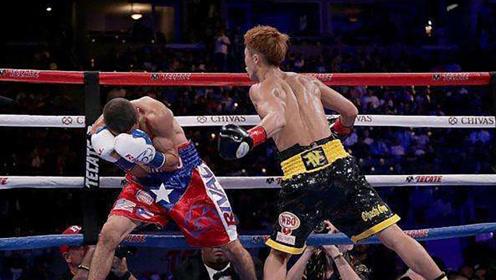 """日本拳击天才""""怪物""""凶猛重拳KO对手,称霸拳台!"""