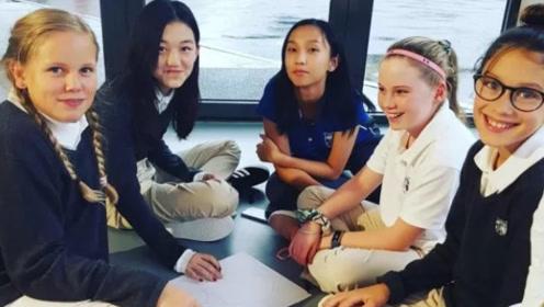 李嫣在瑞士贵族学校上官网,13岁的她像极了天后王菲