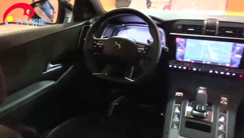 实拍2020款法国高端座驾DS7,内饰屏幕太亮眼,炫酷极了!