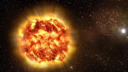 宇宙中最大星球现身,体积是太阳的50亿倍,地球被秒成渣!