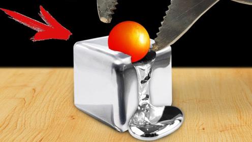 老外将金属球加热至1000℃,去接触其他物品,一起来看看!