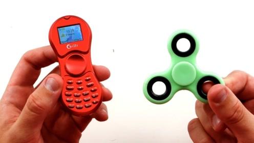 指尖陀螺和手机的结合,边玩边打电话,网友:佩服设计师的脑洞!