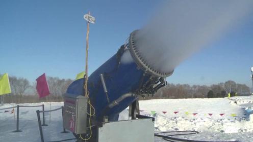 民间牛人发明黑科技造雪机,经过2次失败终成功,技术远超国外