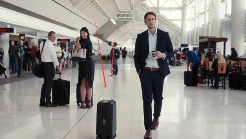 小伙发明智能行李箱,像跟屁虫一样甩不掉,以后出门不用拎东西了