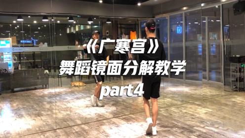 白小白《广寒宫》舞蹈镜面分解教学part4
