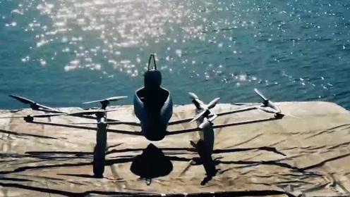世界首个无人机飞船的速度有多快?飞上海面的瞬间,才是震撼开始