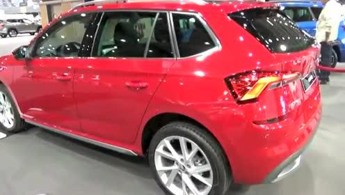 每日一车,空间更大动力更强,2020斯柯达Kamiq紧凑型SUV