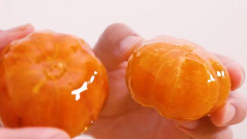 """""""橘子""""最过瘾的吃法,越看越想吃!"""
