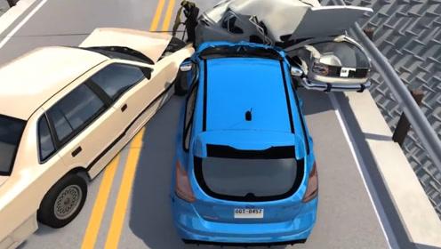 超速车祸现场有多恐怖?3D动画逼真模拟,网友:看完背后发凉