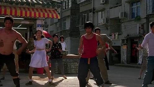 原来他才是广场舞的创始人,阿星跳舞这段戏,真是太有魔性了