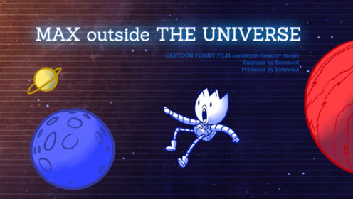 """铅笔小蓝误吃神秘食物,""""屁气冲天""""飞出了地球,太搞笑了!"""