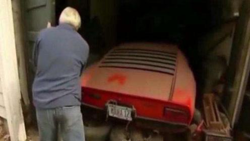外国72岁大爷找回40年前买的兰博基尼,打开后备箱后,惊艳众人!