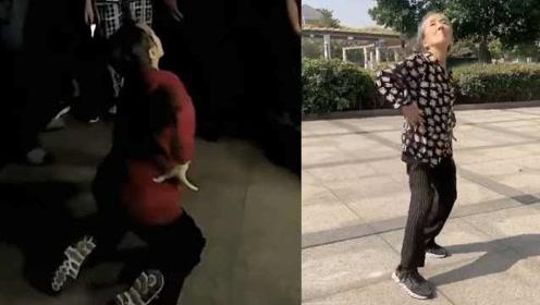 73岁跳舞奶奶找到了:为锻炼身体69岁学舞,每天练习半小时