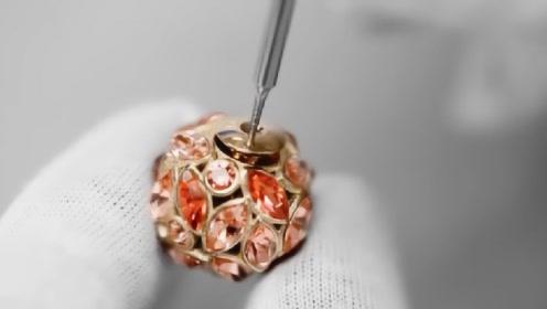 为什么奢侈品卖得那么贵,看完迪奥制作的耳环后,网友:我跪了
