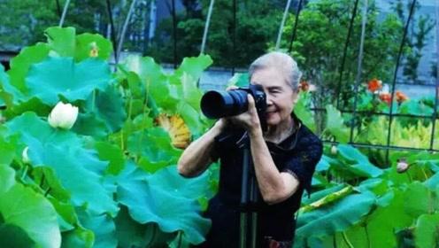 中国的摩登老太太,你看得出她90岁了吗?