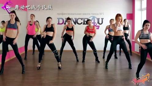 """第一次和俄罗斯女同学一起上体育课,她们跳""""健身操""""太好看了"""