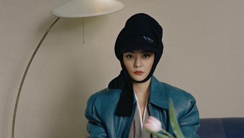 赵薇最新写真曝光 复古蜂窝头造型致敬经典摩登有型