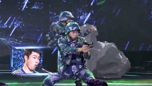 中国达人秀:拟音师口技表演再现阅兵盛况,太燃了!
