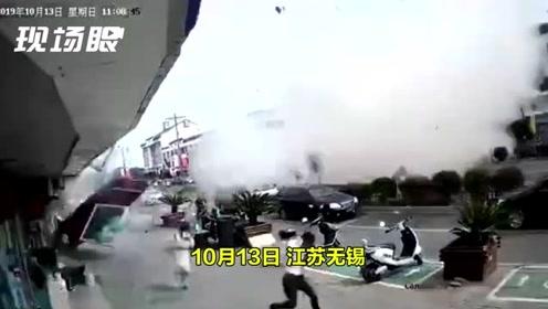 无锡小吃店爆炸致6人死亡 目击者:周边大楼玻璃震碎