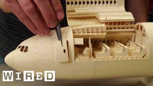 设计师制作纸飞机耗时10年才搞定,看到成品大吃一惊