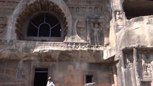 """印度""""最古老""""的佛教石窟,唐僧曾经来过,很多中国游客却不知道"""