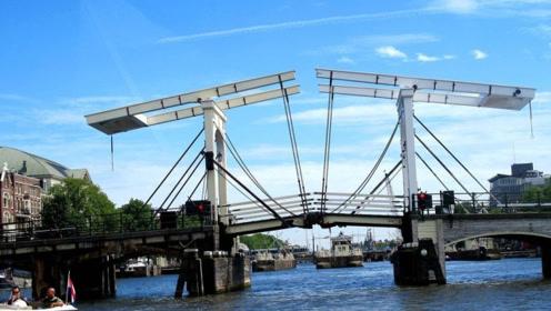 """全球最""""神奇""""的桥,红灯一亮就断成两截,没人敢闯红灯"""