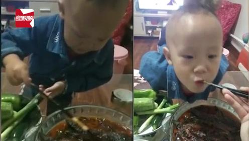 男孩心爱的泥鳅被做成菜哭成泪人,吃了一口:真香!