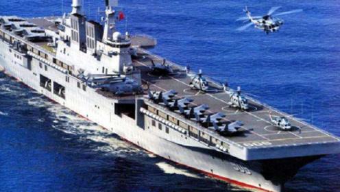 中国075两栖攻击舰完成下水!已安装舰载雷达,服役之期又近